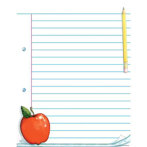TEACHER CREATED RESOURCES Acrylic Wall Art Notepad Paper Chart