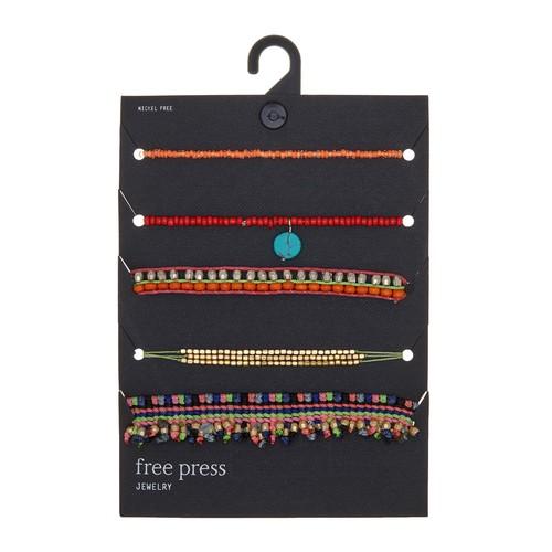 Set of 5 Friendship Bracelets