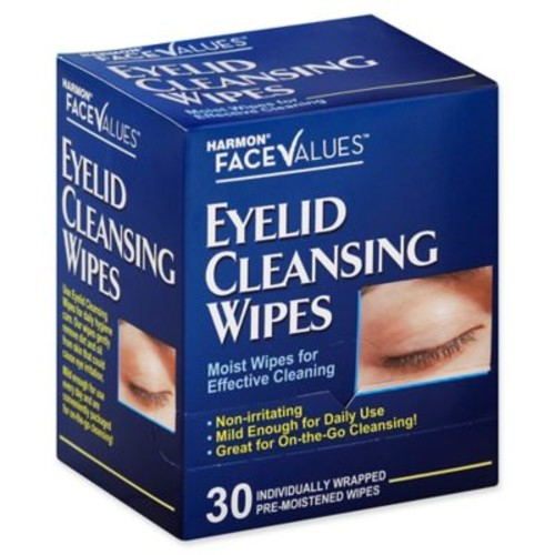 Harmon Face Values 30-Count Eyelid Cleansing Wipes