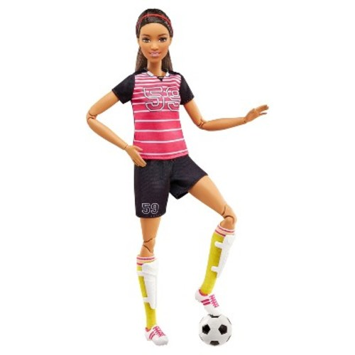 Barbie Made to Move Doll  Yellow Top