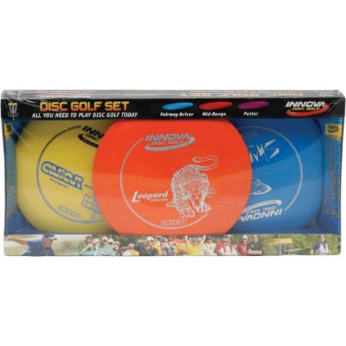 Innova Disc Golf DX 3-Disc Set