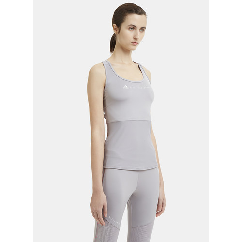 Racer Back Essential Training Top in Grey