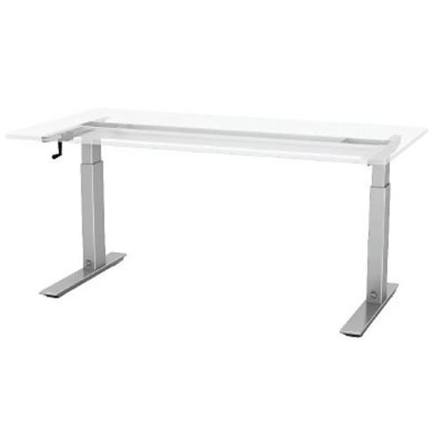 ESI Ergonomic Solutions Q Crank Standing Desk; 45.6'' H x 72'' W x 30'' D