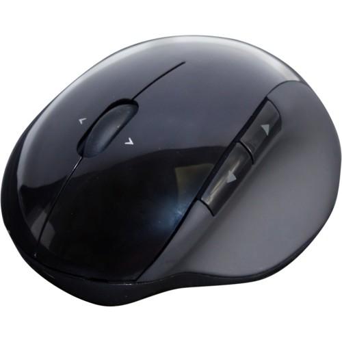 Adesso - iMouse - Wireless Vertical Ergonomic Mouse - Black