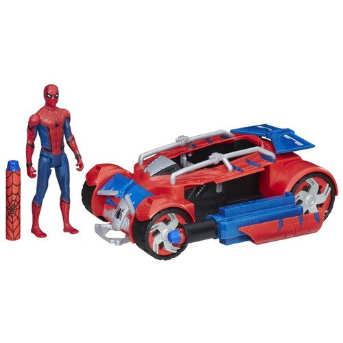 Marvel Spider-Man Homecoming Spider-Man with Spider Racer Set