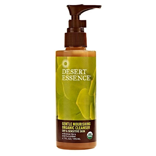 Desert Essence Gentle Nourishing Organic Cleanser, 6.7 Fl Oz