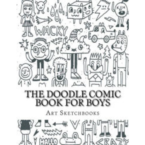The Doodle Comic Book for Boys