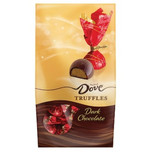 DOVE Christmas Dark Chocolate Truffles - 5.42oz