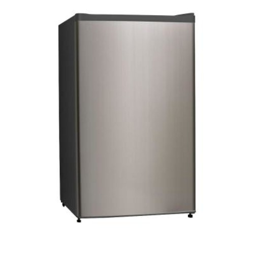 Midea 3.3 cu. ft. Mini Refrigerator in Stainless Steel