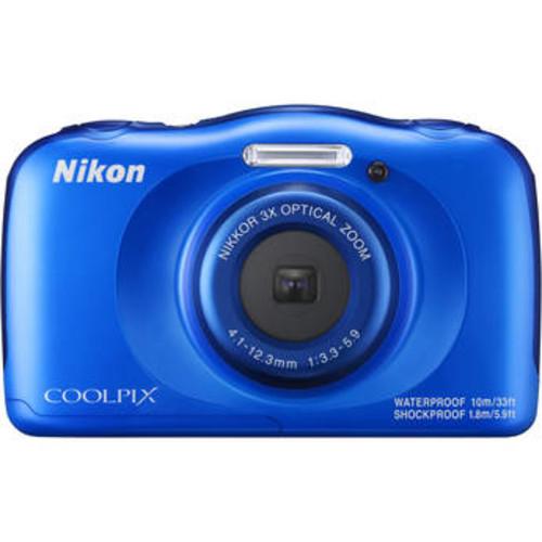 COOLPIX W100 Digital Camera (Blue)