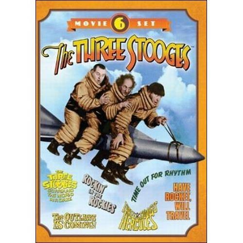 Three Stooges Collection-6-Movie Set [DVD]