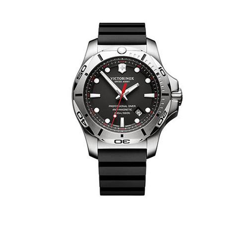 Victorinox Swiss Army, Inc. Men's I.N.O.X. Professional Diver Black Dial Watch