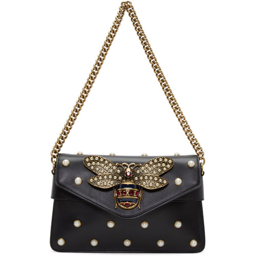 Black Broadway Clutch Bag