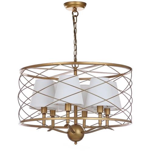 Safavieh Lighting 25.25-inch Thea Gold Adjustable Pendant Lamp