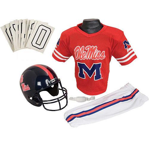 Franklin Sports NCAA Medium Mississippi Deluxe Uniform Set