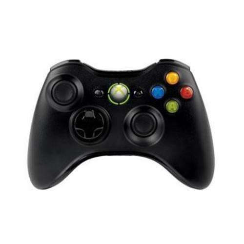 Microsoft JR900011 Xbox 360 Controller for Windows, Wireless, Black