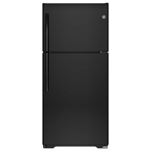 18 cu. ft. Top-Freezer Refrigerator - Black