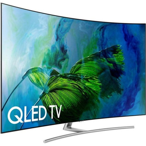 Samsung QN75Q8CAMFXZA 75-inch Curved 4K UHD Smart QLED TV - 3840 x 2160 - 240 MR - Wi-Fi,Bluetooth - HDMI,USB