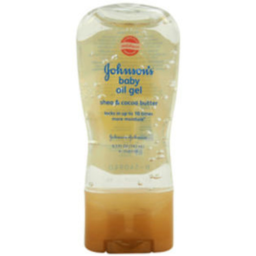 Johnson & Johnson Kids Johnson - Johnson Johnsons Baby Oil Gel Shea and Cocoa Butter Oil Case of 1