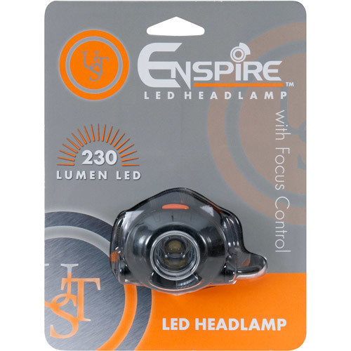 Ultimate Survival Technologies Enspire Headlamp, 25-230 Lumens