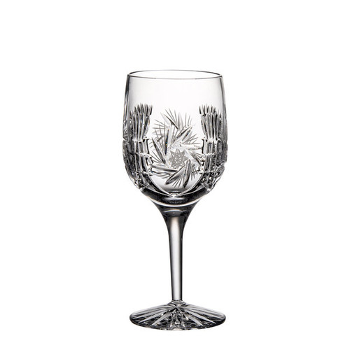 Majestic Gifts Hand-cut Crystal 7-ounce White Wine Goblet (Pack of 4)