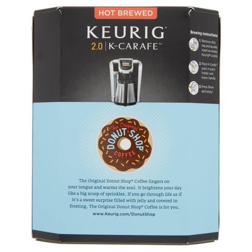 Keurig K-Carafe Packs, The Original Donut Shop Regular, 8-Count