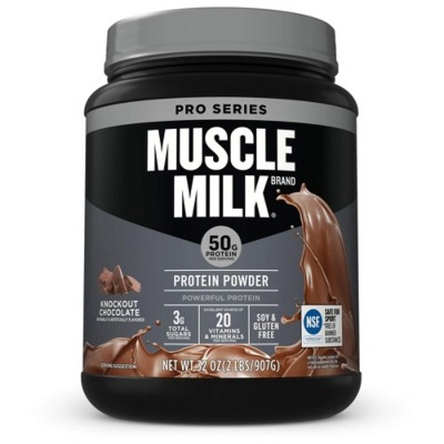 Muscle Milk Pro Series 50 Protein Powder - Chocolate - 2.4lb