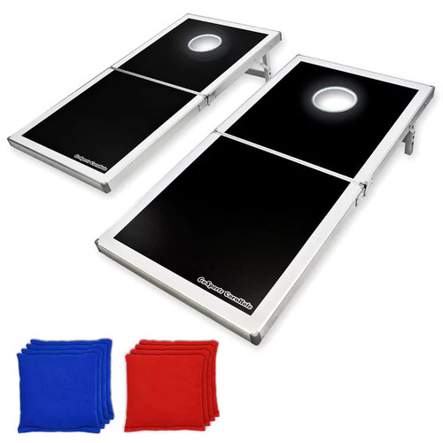 GoSports Regulation Size LED Light-up Cornhole Set