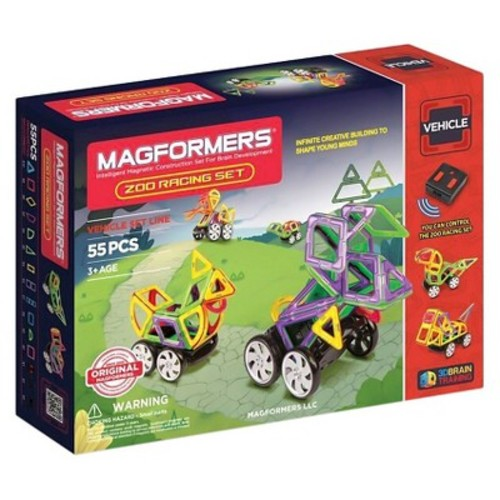 Magformers Zoo Racing 55 PC Set