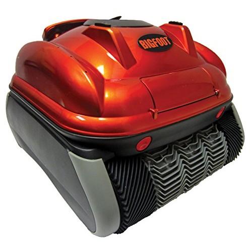 SmartPool Bigfoot Top Loading Cartridge Pool Cleaner, One Size, Metallic Orange