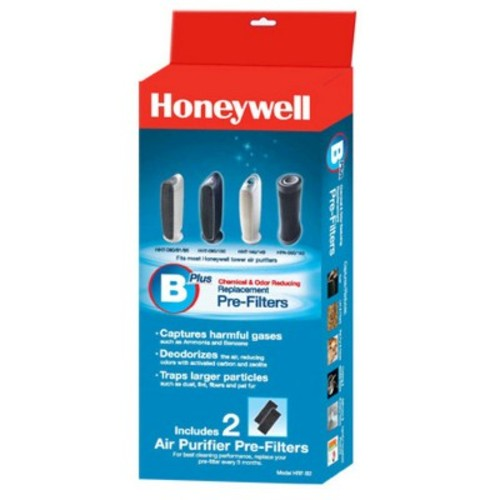 Honeywell Chemical & Odor Reducing Replacement Pre-Filter - 2 Pack