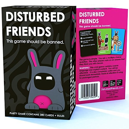 Disturbed Friends - This party game should be banned.: Toys & Games