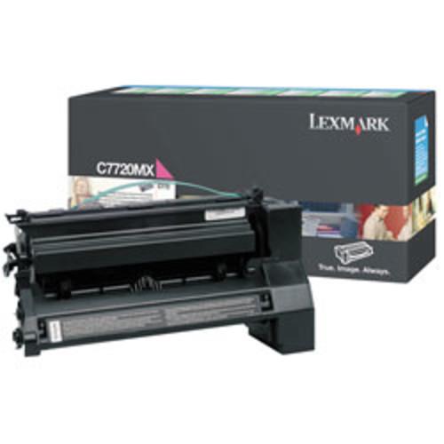 Lexmark C7720MX Magenta High-Yield Toner Cartridge