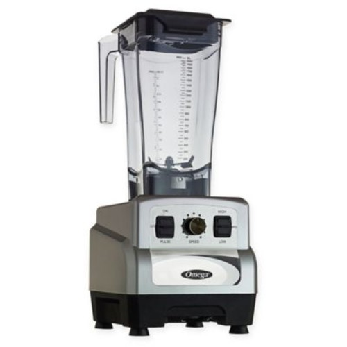 Omega OM6560S 3 Peak HP 11-Speed Blender with Pulse in Silver