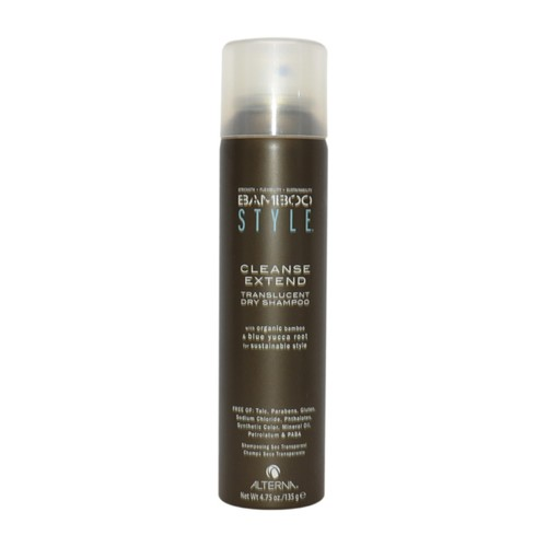 Alterna Bamboo Style Cleanse Extend Translucent Dry Shampoo by for Unisex - 4.75 oz Shampoo