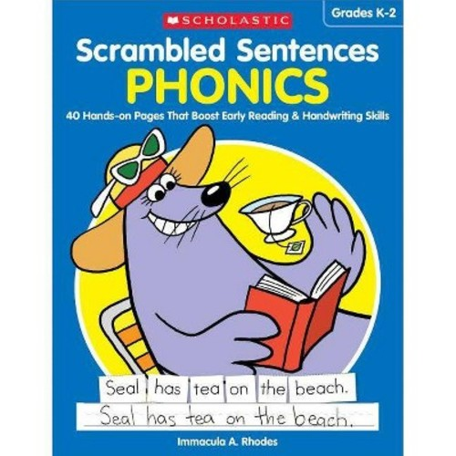 Phonics : 40 Hands-on Pages That Boost Early Reading & Handwriting Skills (Paperback) (Immacula A.