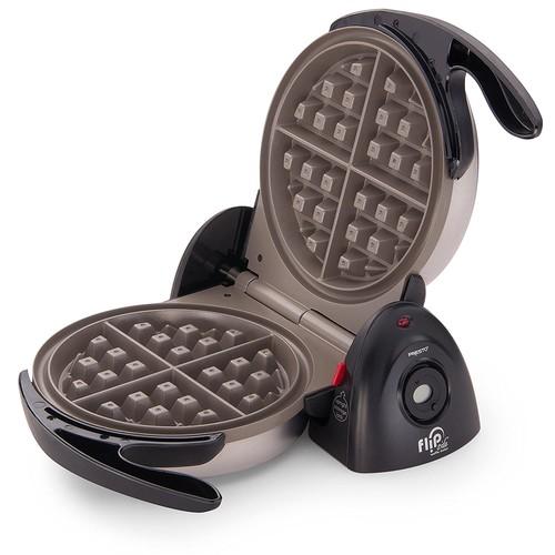 Presto 03510 Ceramic FlipSide Belgian Waffle Maker [Black, None]