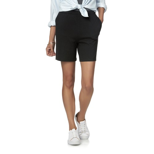 Basic Editions Women's Knit Shorts [Fit : Women's]