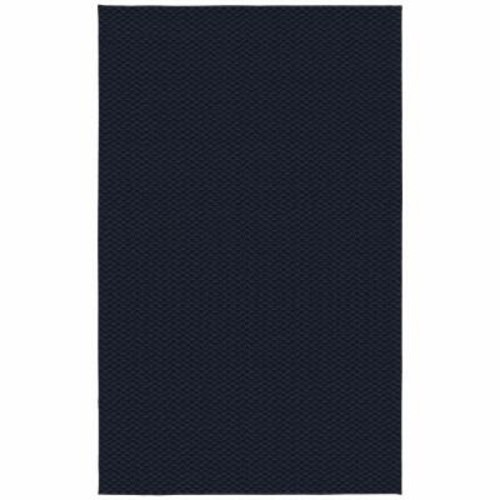 Garland Rug Medallion Navy 12 ft. x 18 ft. Area Rug