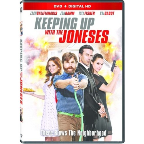 Keeping up with the Joneses (DVD + Digital)
