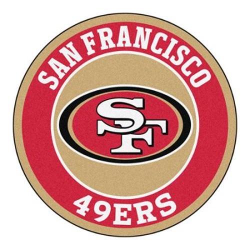 Fanmat 17974 Nfl San Francisco 49er's Roundel Mat
