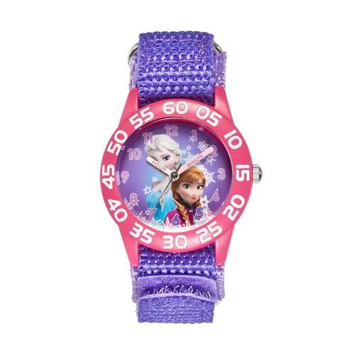 Disney's Frozen Anna & Elsa Girls' Time Teacher Watch
