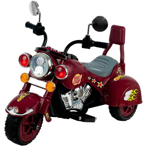 Lil' RiderT Maroon Marauder Motorcycle - Three Wheeler [80-YJ119M] -