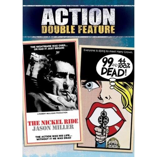 Action Double Feature: 99 And 44/100% Dead & The Nickel Ride: Richard Harris, Edmond O'Brien, Jason Miller, Linda Haynes, John Frankenheimer: Movies & TV