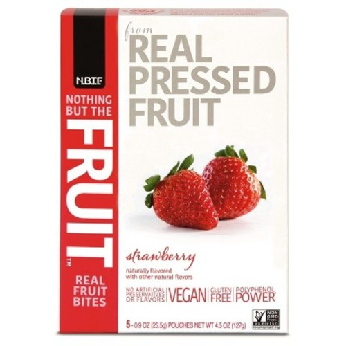 Nothing But The Fruit Strawberry Flavored Fruit Bites - 4.5oz