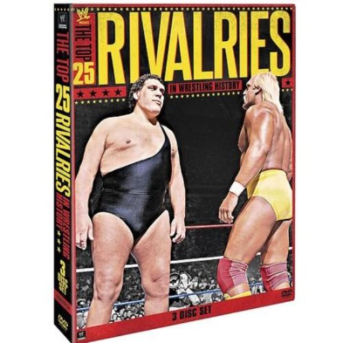 Wwe-Wwe Presents Top 25 Rivalries in Wrestling History