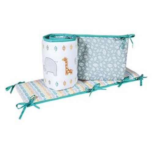Trend Lab 102007 Lullaby Jungle Crib Bumpers