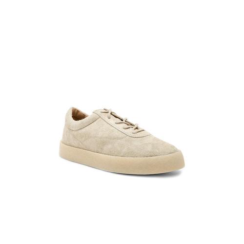 YEEZY Season 6 Crepe Sneaker in Chalk