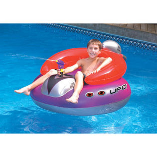 Swimline UFO Inflatable Spaceship with Built-in Water Pistol for Swimming Pool