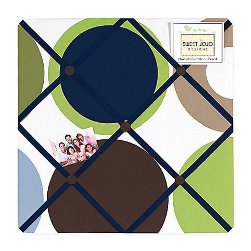 Sweet Jojo Designs Designer Dot Fabric Memo Board